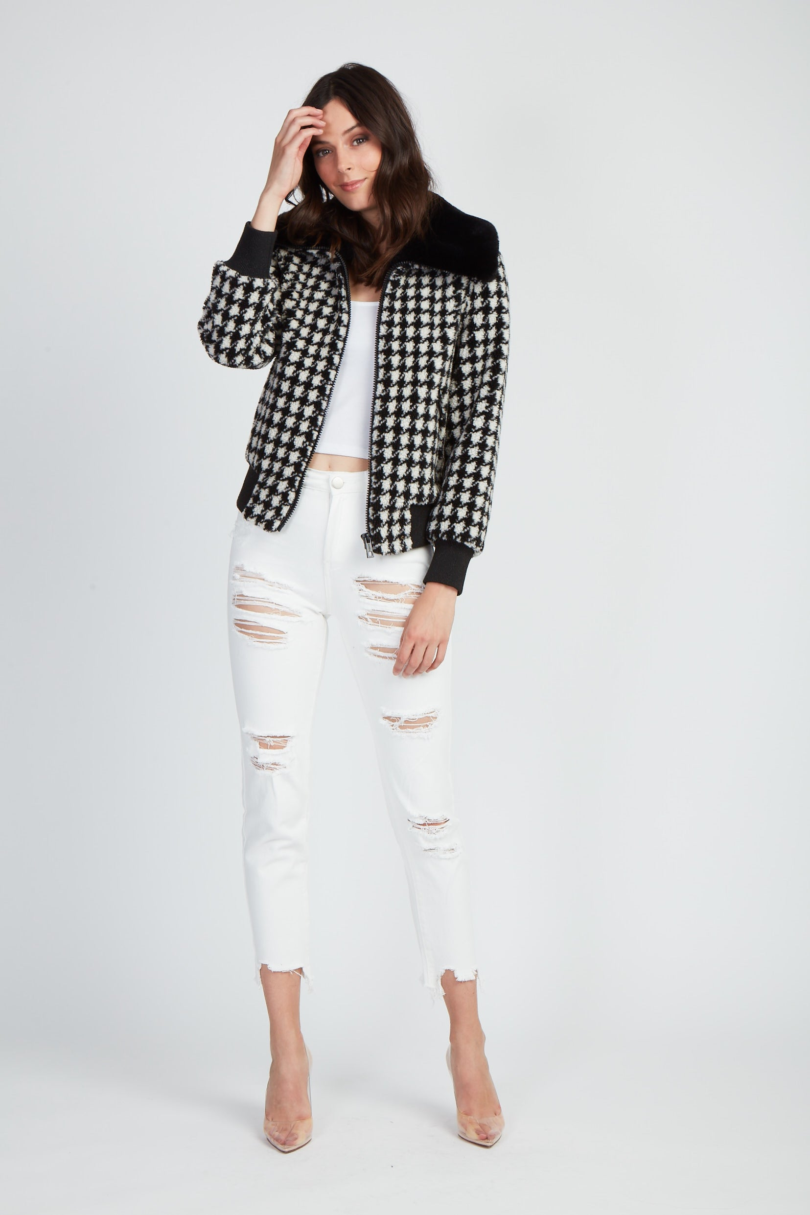 The Made Faux You Bomber Jacket