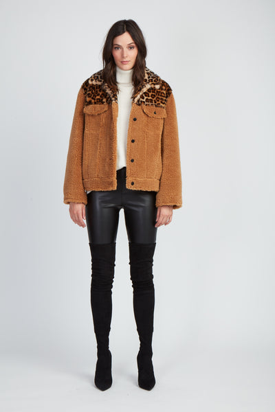The Avenue A Teddy Jacket