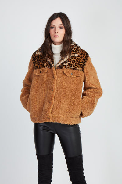 The Faux Real Teddy Jacket