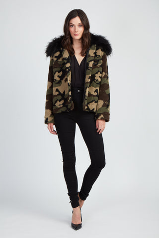 The Just Faux Fun Teddy Jacket