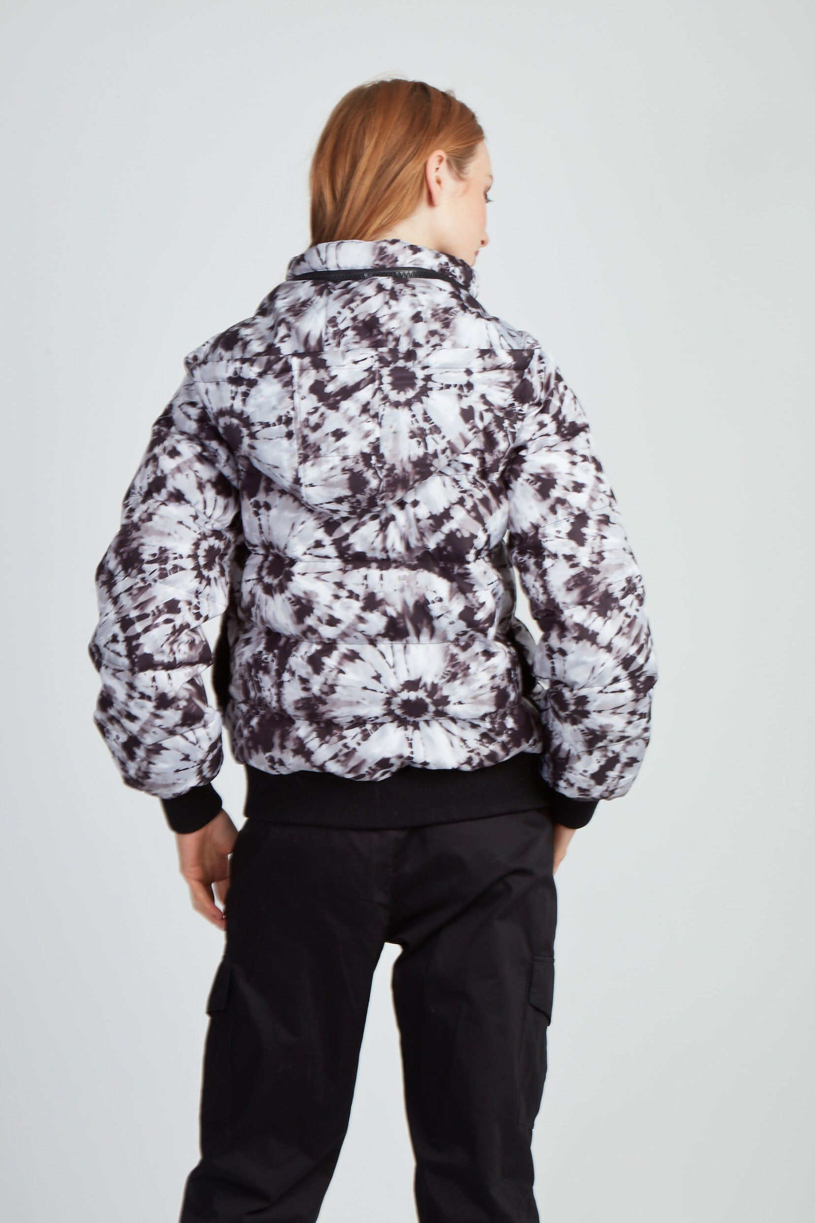 The Throwback Tie Dye Bomber