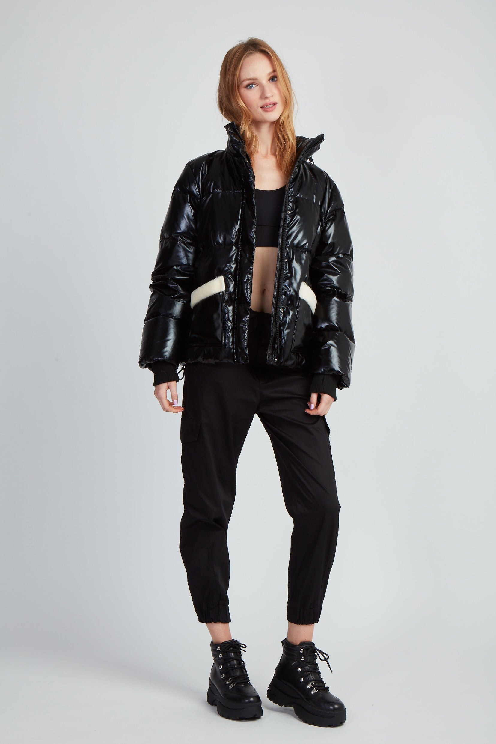 The Faux Keeps Puffer - Black