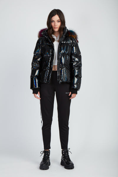 The You're My Shorty Puffer - Black
