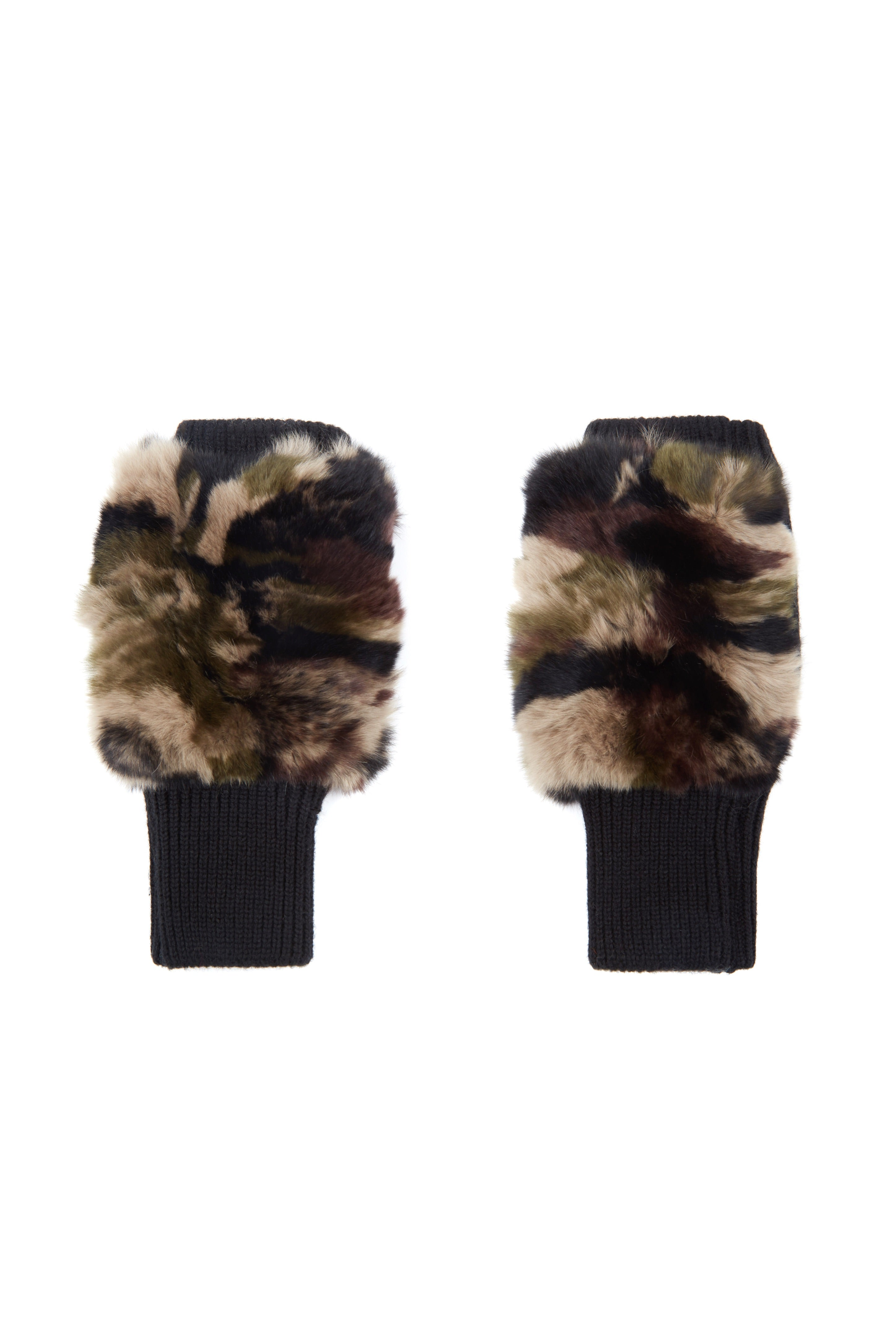 The Canal Cowl + Mitten Gift Set - Camo