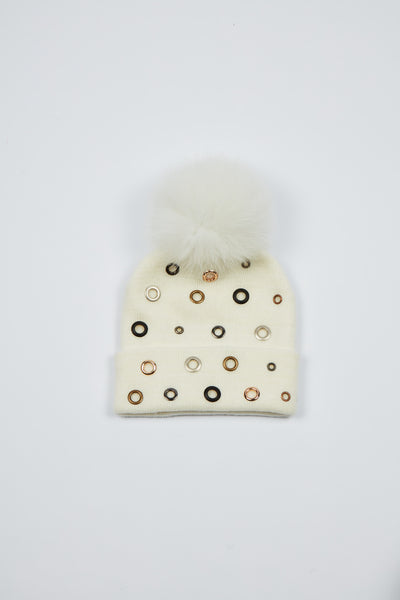 The Lunar Rings Hat - Cream