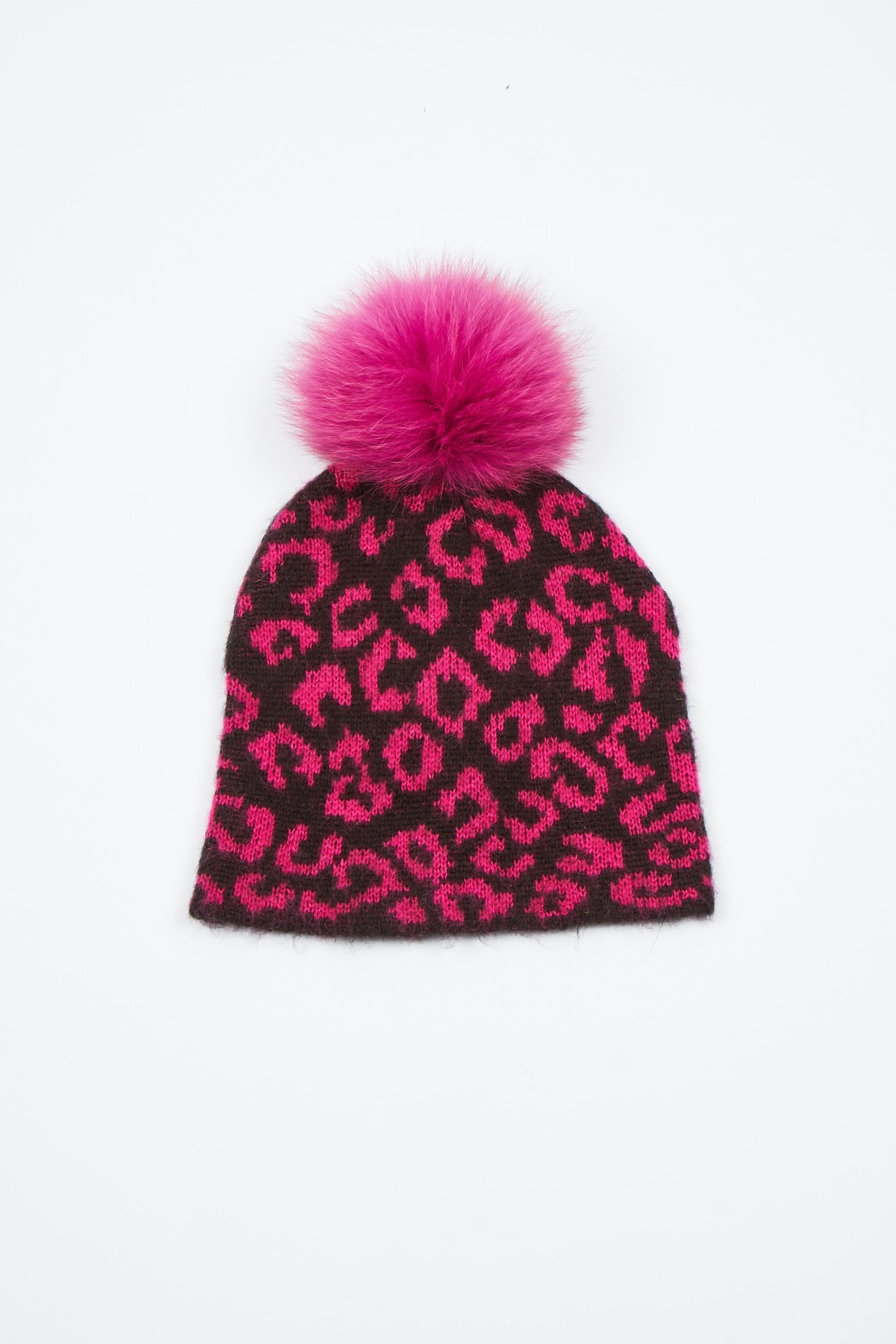 The Lunar Leopard Hat - Hot Pink/Black Animal