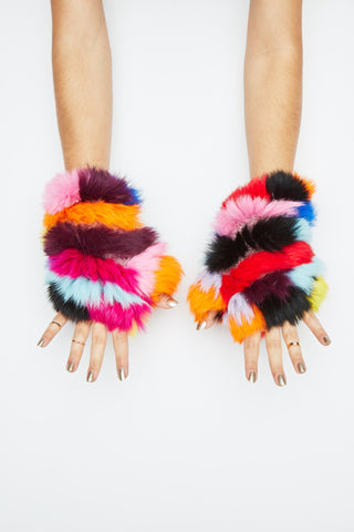 The Mandy Mitten - Bright Multi
