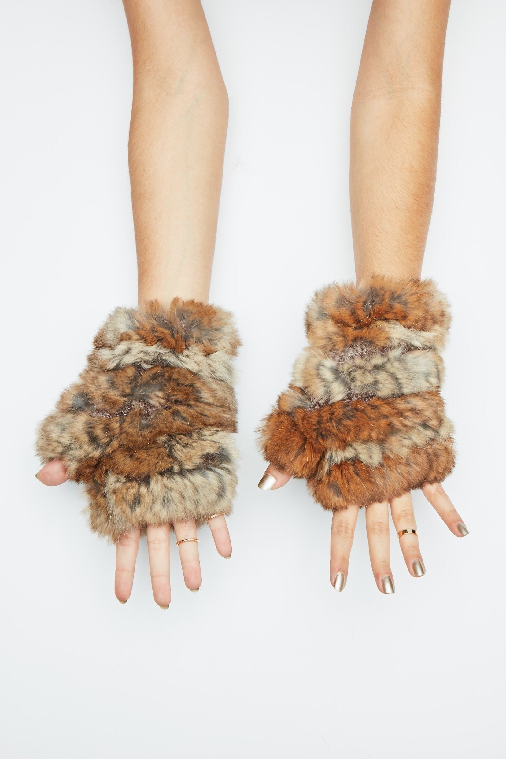 The Mandy Mitten - Natural Heather