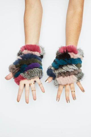 The Mandy Mitten - Jewel Multi