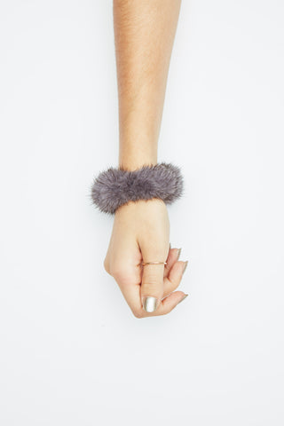 The Starlit Scrunchy - Grey