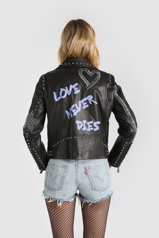 The Love Never Dies Moto Jacket