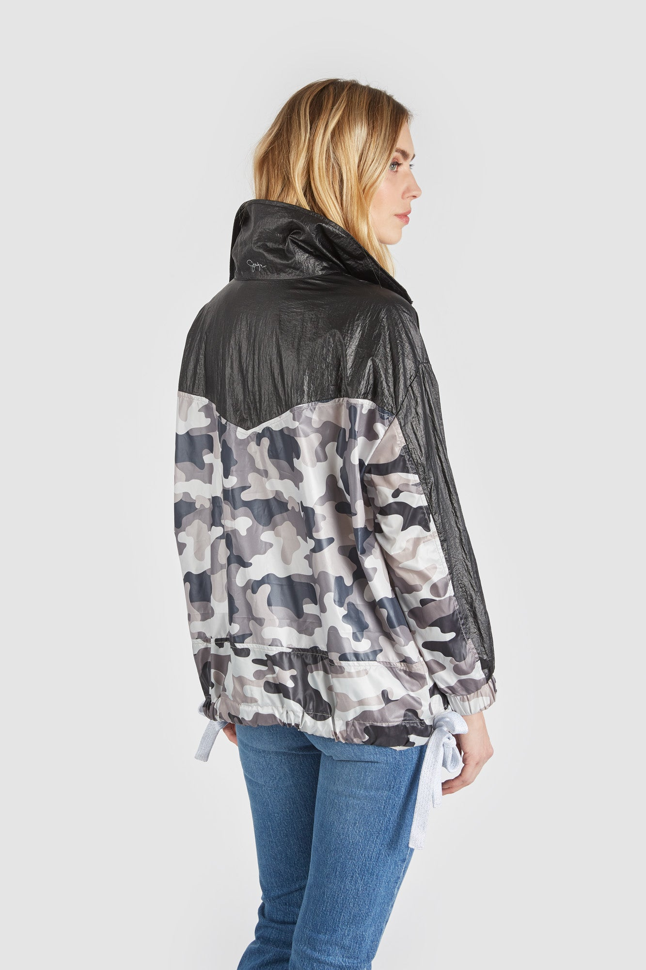 The Camodelic Track Coat - Black Camo