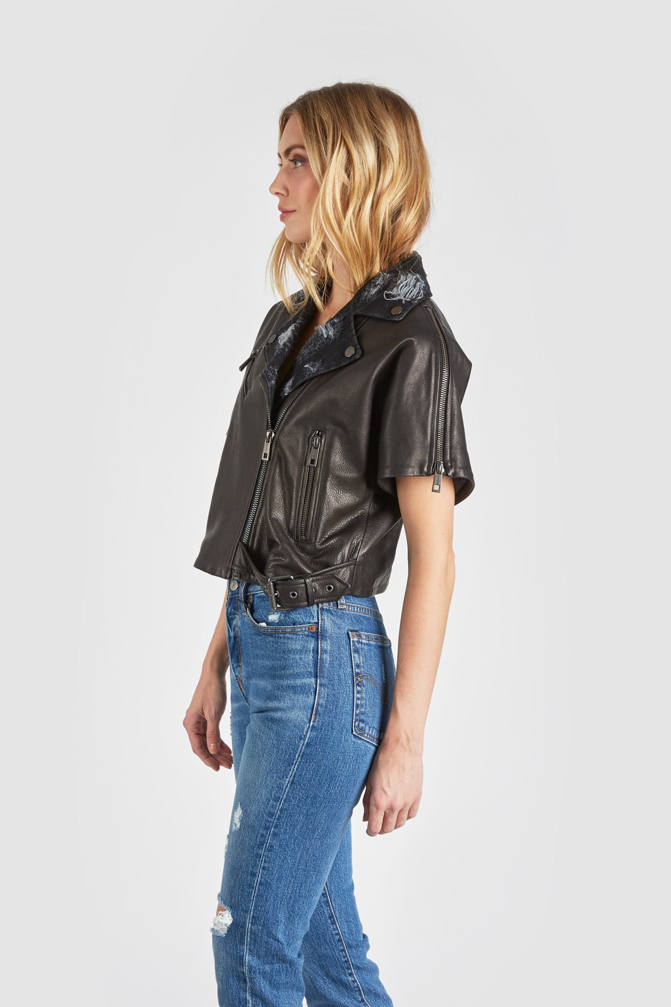 The Mondo Moto Jacket - Black