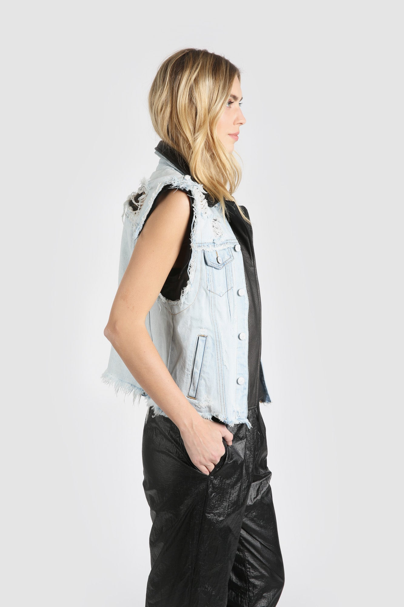 The Feel The Funk Denim Vest