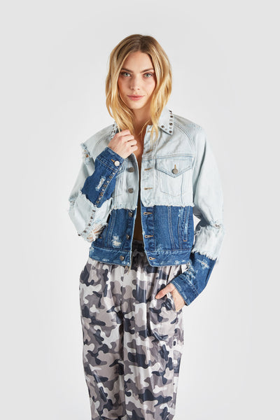 The Totally Two-Tone Denim Jacket