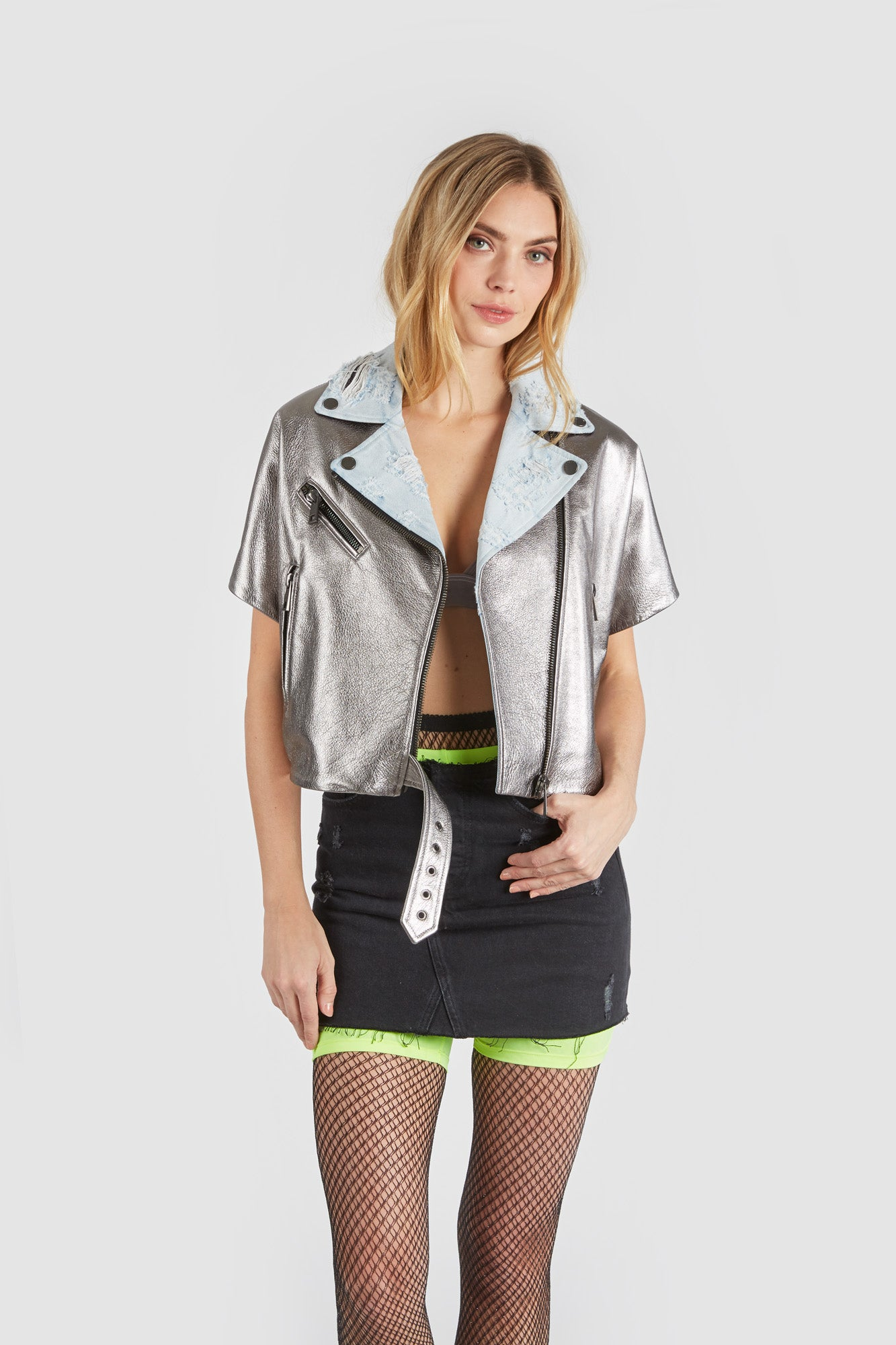 The Mondo Moto Jacket - Gray