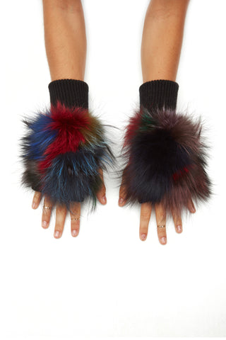 The Demi Mittens - Dark Multi