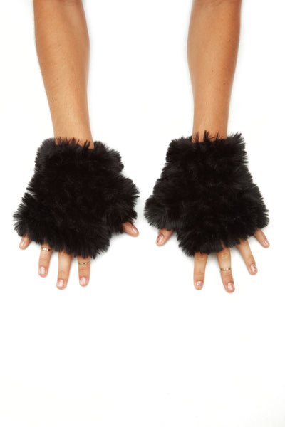 The Mandy Mitten - Black