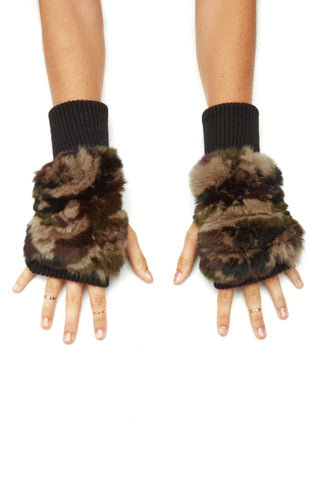 The LeLe Mittens - Camo