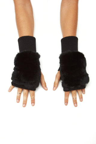 The Gigi Mittens - Black