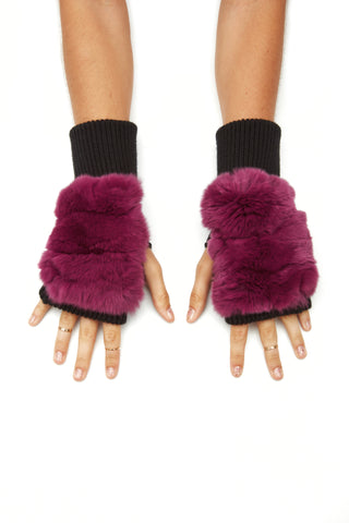 The Gigi Mittens - Berry