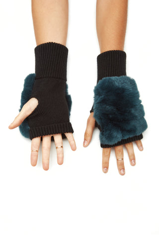 The Gigi Mittens - Teal