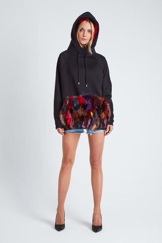 The UFO Hoodie - Black/Multi