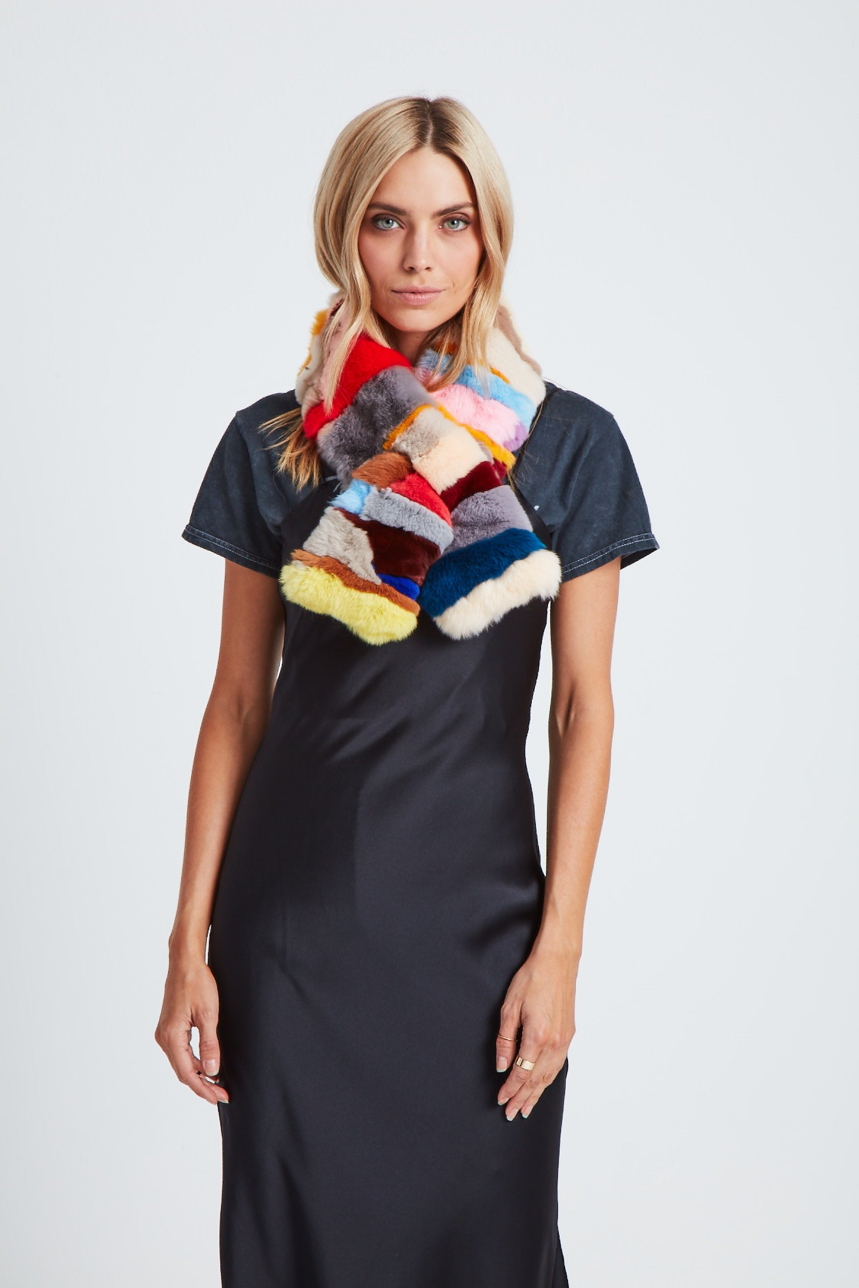 The Cosmic Ray Scarf - Bright Multi
