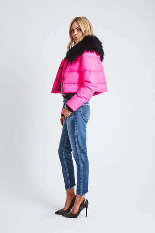 The Outta this World Jacket - Neon Pink