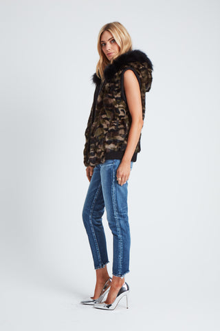 The Women Are From Venus Vest - Khaki Camo