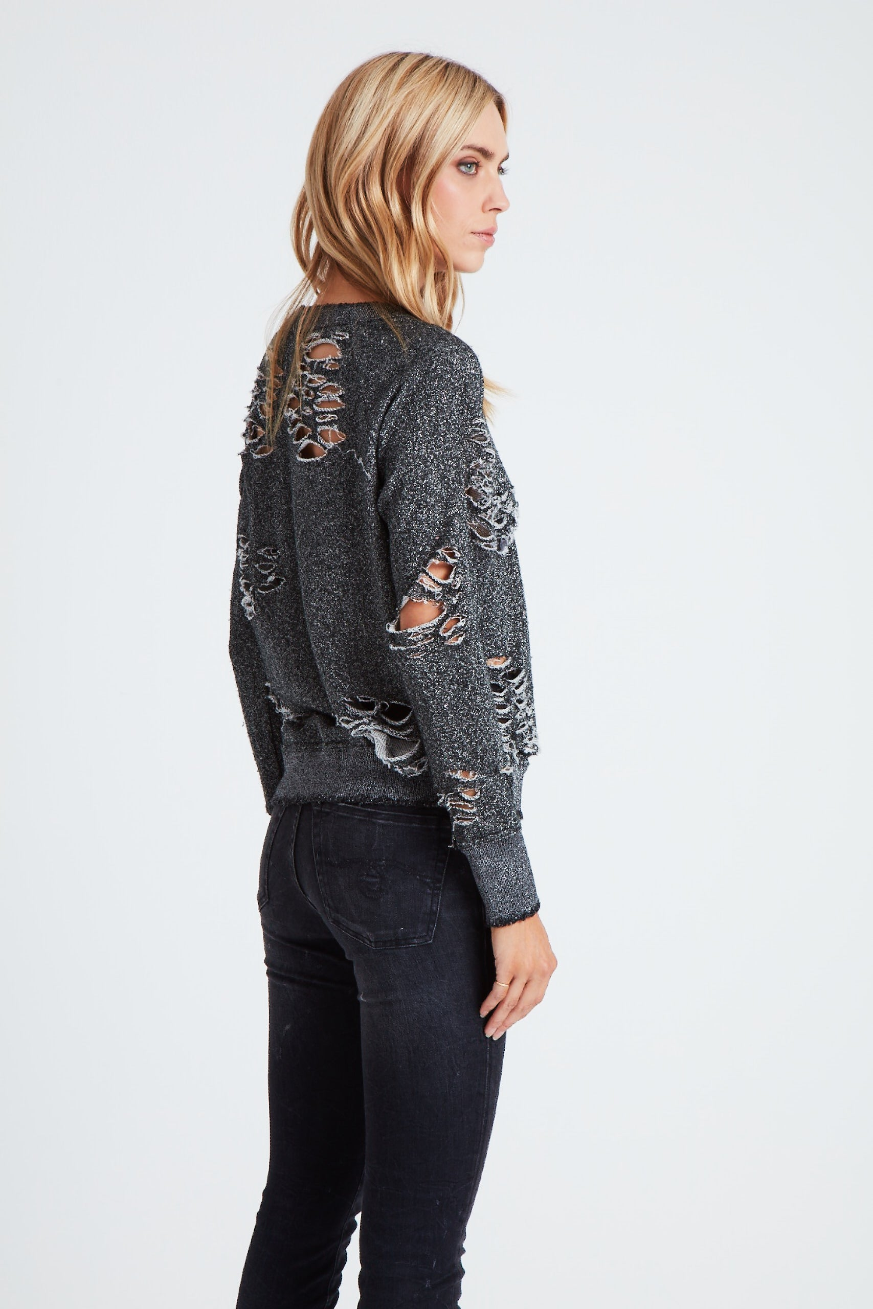 The Cluster Star Sweatshirt  - Dark Grey