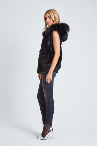 The Women Are From Venus Vest - Black