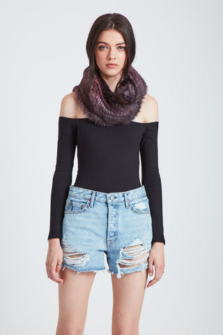 The Apollo Scarf - Smokey Lilac Ombre