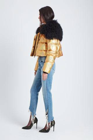 The Outta this World Jacket - Gold