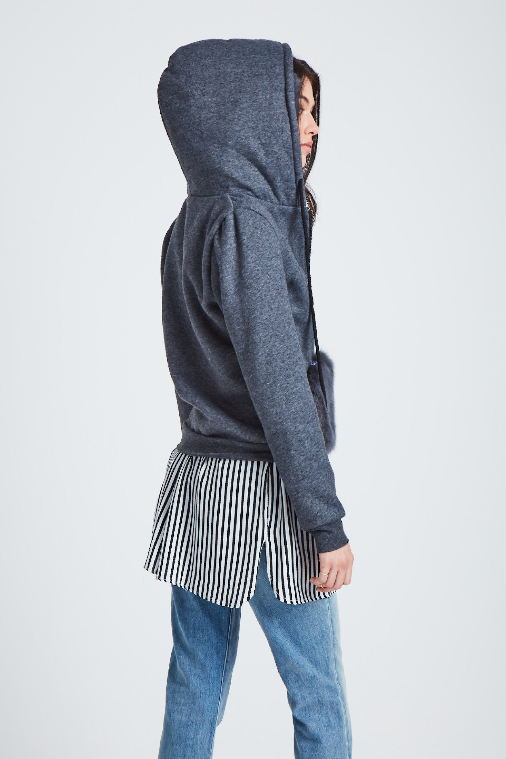 The Stratosphere Hoodie - Dark Grey