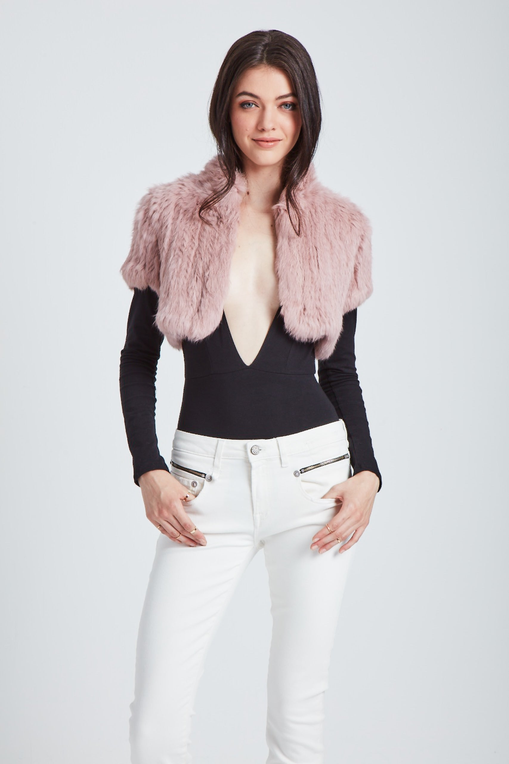 The Felicity Shrug - Pink