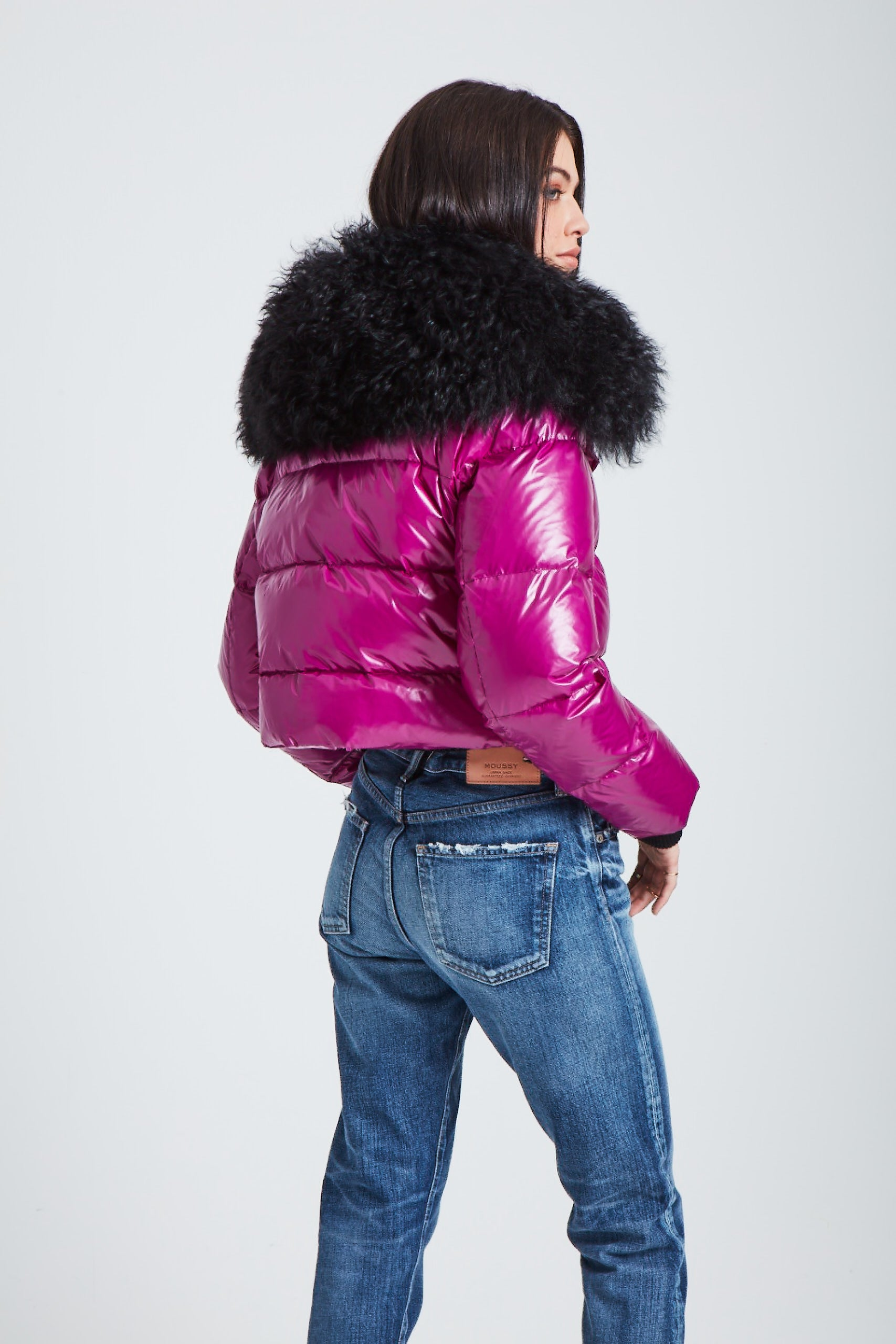 The Outta this World Jacket - Fuschia