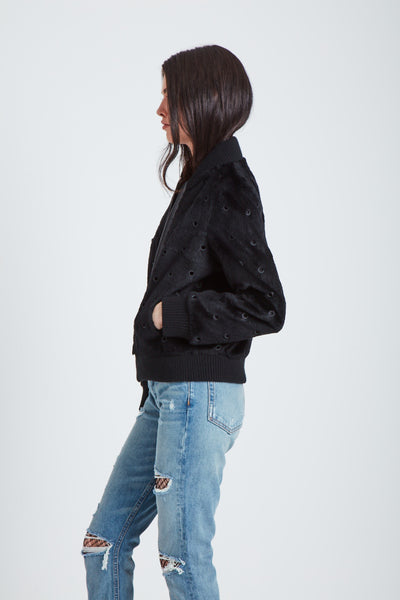 The Parallel Universe Bomber - Black