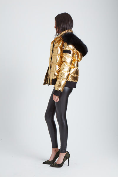 The Spaceship Jacket - Gold