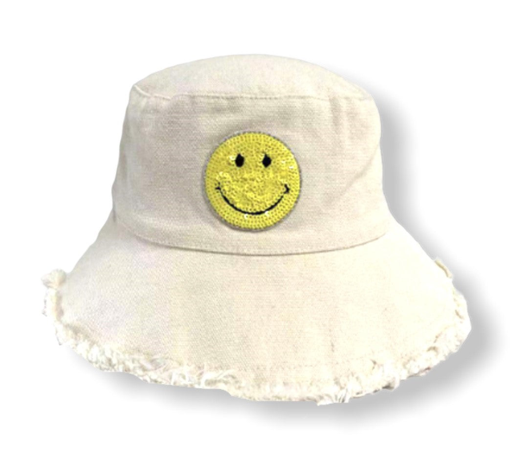 The Happy AF Hat - Yellow Smile (KIDS)