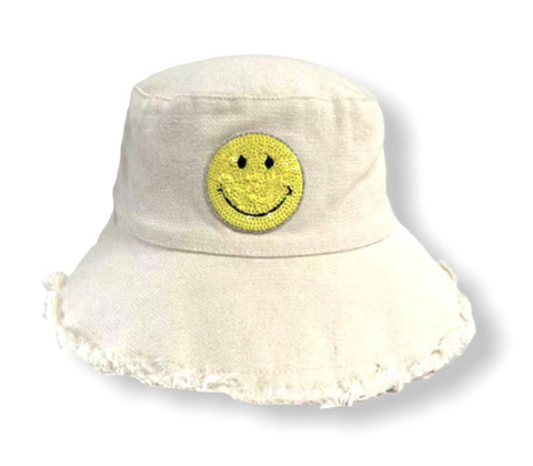 The Happy AF Hat - Yellow Smile