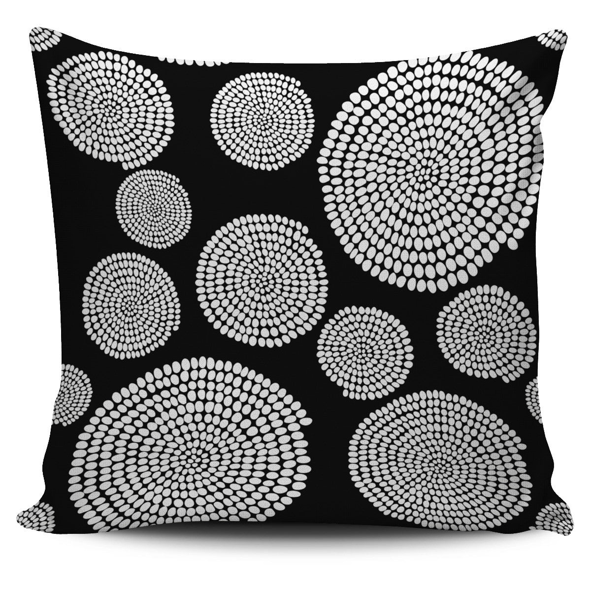 African Swirl Pillow Cover