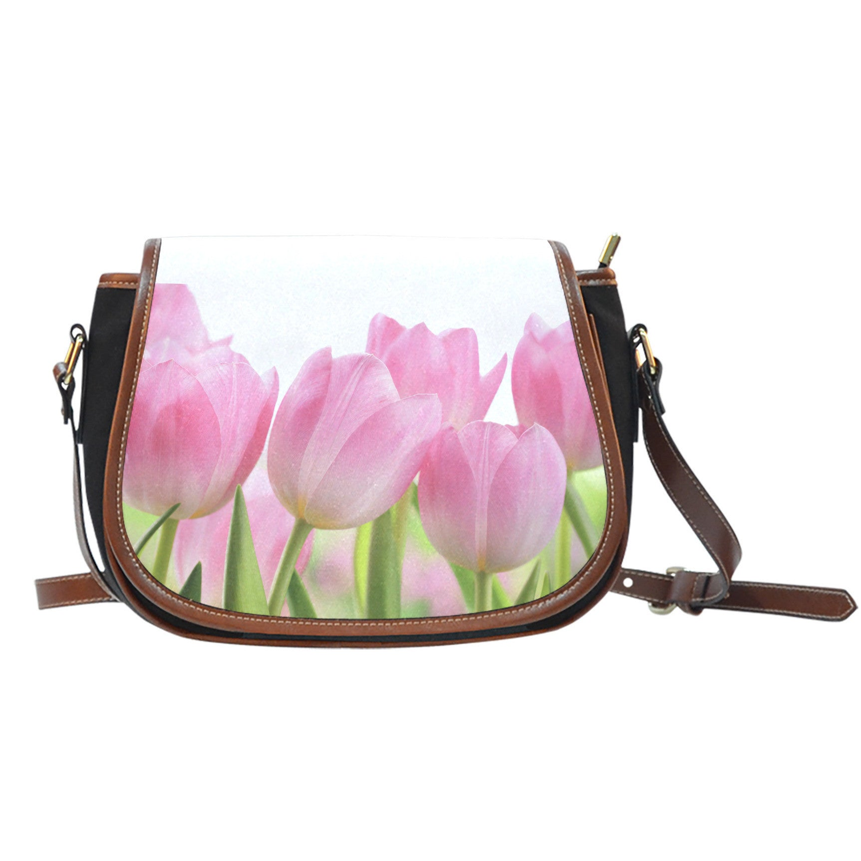Tulip Flower Saddle Bag