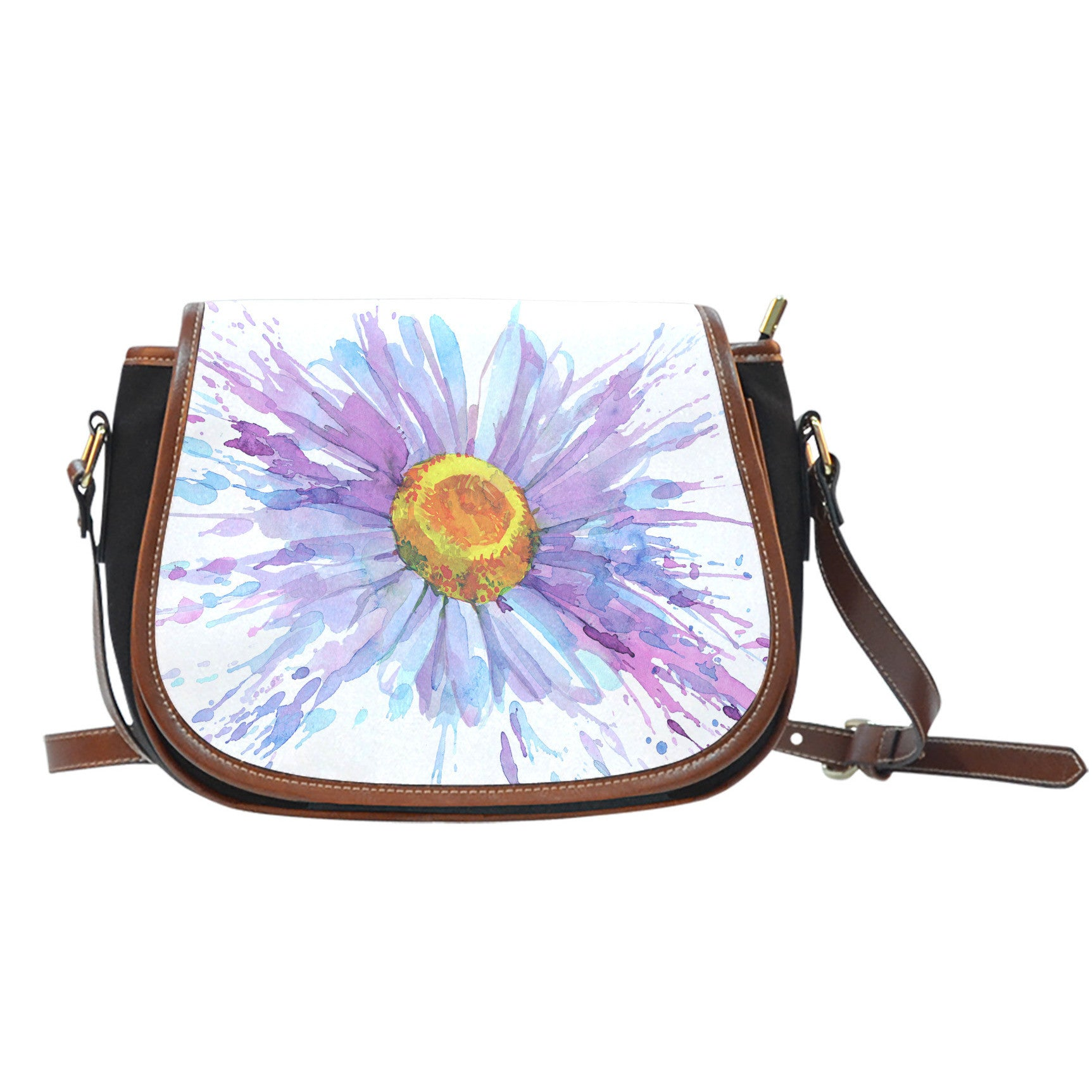 Daisy Flower Saddle Bag