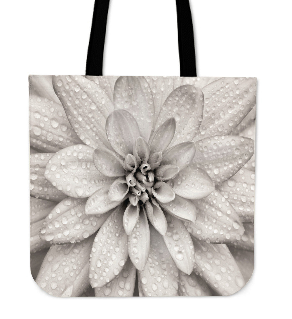 Dahlia Flower Cloth Tote Bag