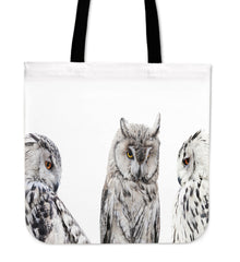 Set of Owls Cloth Tote Bag