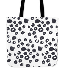 Leopard Cloth Tote Bag