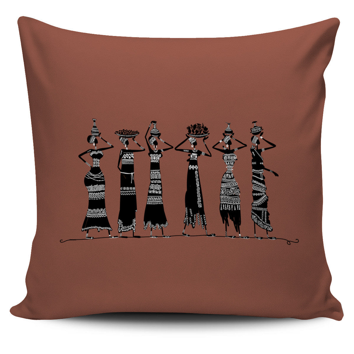 Ethnic Women Pillow Cover - 6 styles available