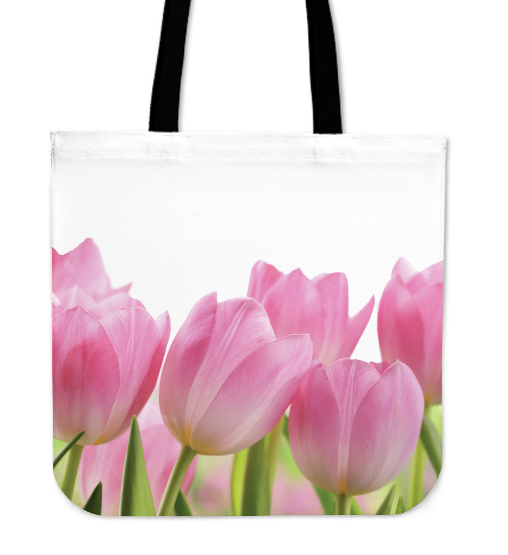 Tulip Flower Cloth Tote Bag