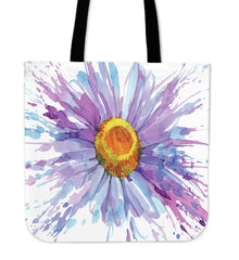 Daisy Flower Cloth Tote Bag